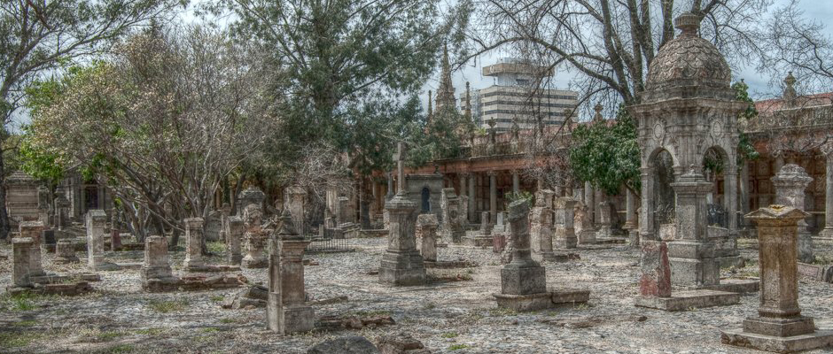 El emblemático Panteón de Belén en Guadalajara