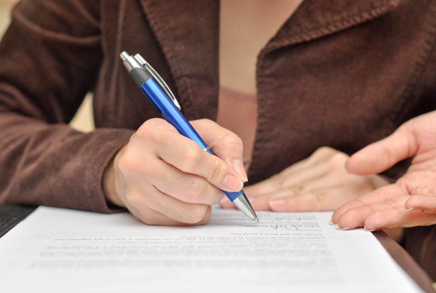 Puntos a considerar al hacer un testamento